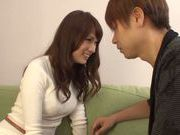 Asian babe Yui Ooba is enjoying hot sex to the max