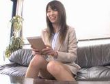 Miho Imamura Naughty office lady enjoys hard sex picture 3