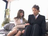 Miho Imamura Naughty office lady enjoys hard sex picture 6