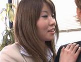 Miho Imamura Naughty office lady enjoys hard sex picture 7