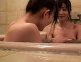 Lori And Her Schoolgirl Friend Bathe Each Other's Bodies picture 11