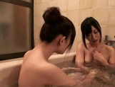 Lori And Her Schoolgirl Friend Bathe Each Other's Bodies picture 13