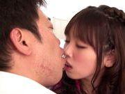Yamaguchi Rico young Japanese girl with massive tits