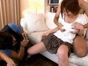 Horny and filthy babe Makoto Yuuki teased and fondled by a bunch of guysasian schoolgirl, asian women}