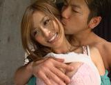 Sexy MILF Akari Asahina pounded by toys and cocks picture 12