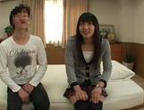 Amateur Teen Nanami Honda Fucks For The First Time On Camera picture 1