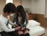 Amateur Teen Nanami Honda Fucks For The First Time On Camera picture 9