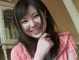 Cute Teen Sakura Ayame Squeezes His Cock As She's Pounded picture 14