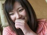 Cute Teen Sakura Ayame Squeezes His Cock As She's Pounded
