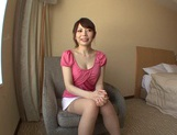 Beautiful Hana Masaki In Stockings Opens Her Legs For A Pounding picture 10