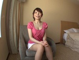 Beautiful Hana Masaki In Stockings Opens Her Legs For A Pounding picture 11