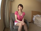 Beautiful Hana Masaki In Stockings Opens Her Legs For A Pounding picture 12