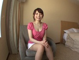Beautiful Hana Masaki In Stockings Opens Her Legs For A Pounding picture 13