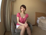 Beautiful Hana Masaki In Stockings Opens Her Legs For A Pounding picture 9