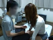 Sae Aihara Asian model is fucked from behind