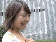 Hot milf Mio Futaba hardcore action with doggystyle and voyeur