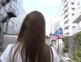 Beautiful Kazuho Mukai Asian teen gets a rear fucking picture 5