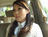 Ameri Ichinose masturbates in the carhot asian girls, japanese porn, hot asian pussy, Ameri Ichinose
