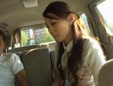 Ameri Ichinose masturbates in the carfucking asian, japanese pussy, Ameri Ichinose