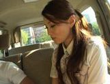 Ameri Ichinose masturbates in the carhot asian pussy, japanese sex, Ameri Ichinose