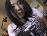 Homemade action with amateur Momoka Nohara has her going wild picture 15