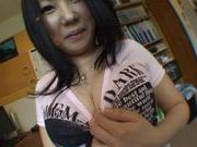 Homemade action with amateur Momoka Nohara has her going wild