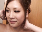 Nozomi Nishiyama gets cum on tits after group sex