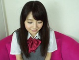 Sexy schoolgirl Reon Aizawa enjoys a true fuck picture 12