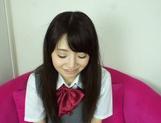 Sexy schoolgirl Reon Aizawa enjoys a true fuck picture 13