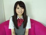 Sexy schoolgirl Reon Aizawa enjoys a true fuck picture 14