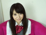 Sexy schoolgirl Reon Aizawa enjoys a true fuck picture 15