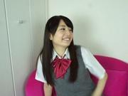 Sexy schoolgirl Reon Aizawa enjoys a true fuck