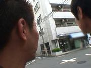 Japanese hot young girl is having mindblowing fun