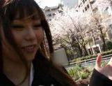 Shizuku Hasegawa doggy sex and hot cumshot