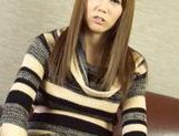 Luscious Japanese AV model gets pounded by impressive guy picture 7
