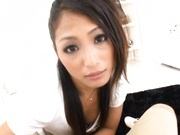 Aoi Miyama Asian model fucked by horny guy