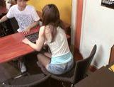 Mao Asian chick is fucked from behind