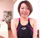 Nade Tomoseka alluring Japanese milf gives hot blowjob