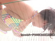 Soaped Up Yui Fujishima Plays With Her Sexy Teen Body
