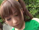 Naughty Japanese AV Model is a horny teen doing some facesitting picture 11