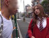 Nice teen Japanese AV model in hardcore sex action