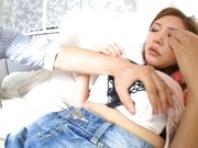 Mio Kuraki Asian beauty gets her tight snatch fingered