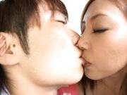 Mio Kuraki Asian beauty gets her tight snatch fingered
