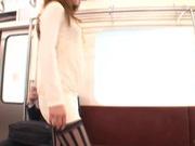 Naughty MILF Tsubomi Fucks A Total Stranger On The Subway