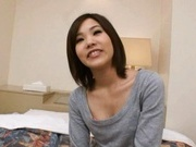 Eri Takizawa Asian model gives hot blowjob