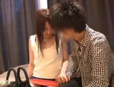 Iroha Sogara enjoys a tasty cock for sucking picture 15