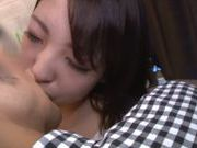 Iroha Sogara enjoys a tasty cock for sucking