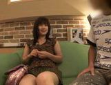 Hina Komatsu Japanese doll enjoys a threesome