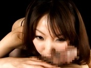 Minto Suzuki Asian doll gives amazing blowjob