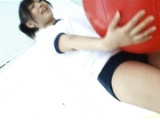 Cute school girl Yuri Haruki upskirt action